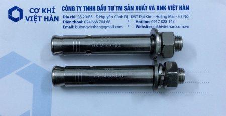 chuyên phân phối sản phẩm tắc kê nở ống inox 304- bulong nở ống inox 304 M16x120 quận hoàng mai